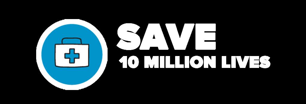 Save 10 million lives through surgery